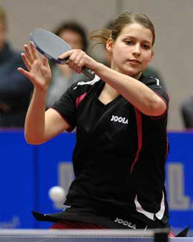 Petrissa Solja at German Open